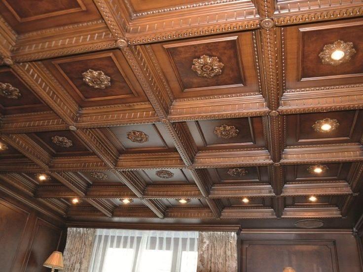 Boiserie da soffitto in stile classico CONTROSOFFITTI  Boiserie - Turati &am...