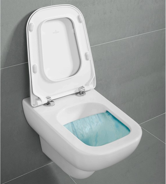 Wall-hung rimless toilet JOYCE DirectFlush - Villeroy & Boch