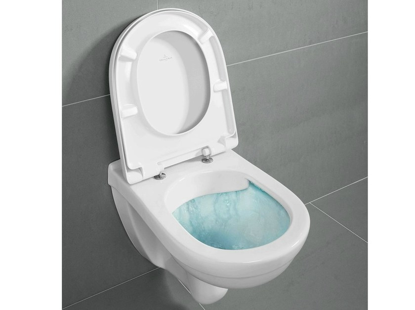Rimless ceramic toilet O.NOVO | Wc DirectFlush - Villeroy & Boch