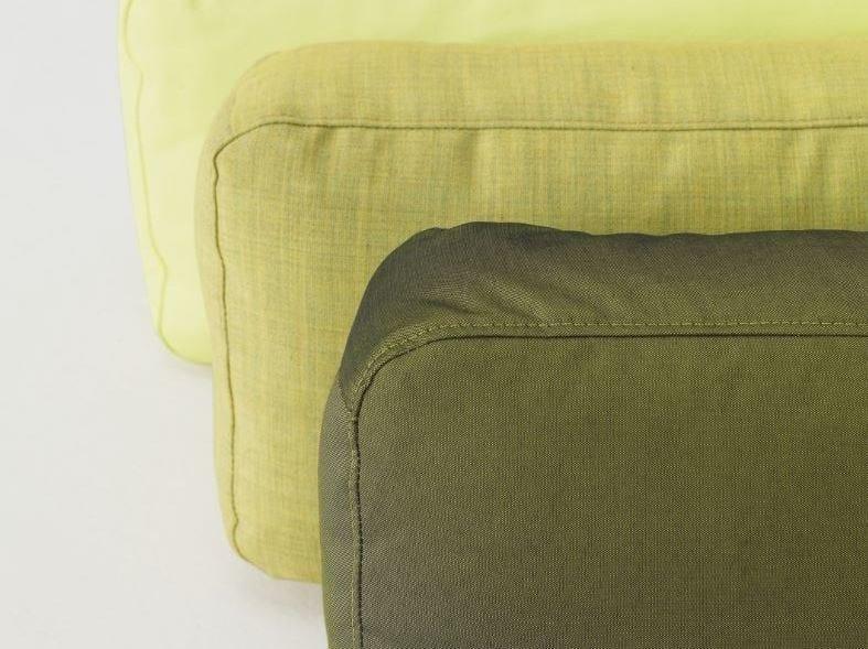 Rectangular fabric sofa cushion PIUMINO - ZEITRAUM