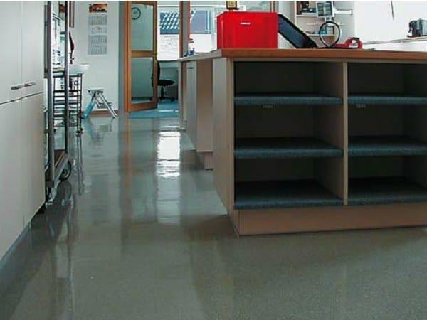Synthetic material continuous flooring Triflex IWS-557 - Triflex Italia