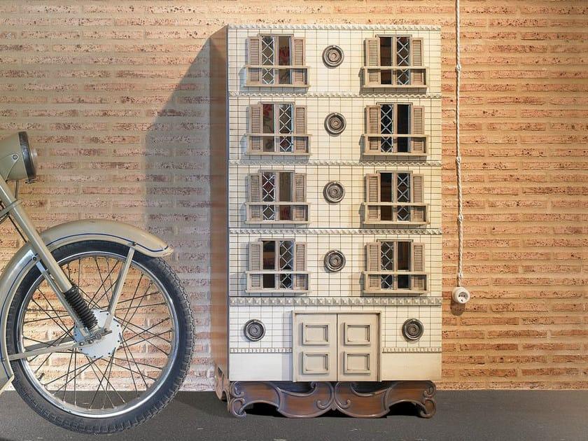 Cassettiera in legno impiallacciato toscano collezione - Lola glamour mobili ...