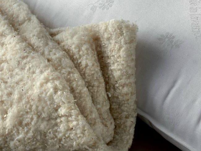 Anti-mite rectangular cotton pillow BLOW COTTON - Demaflex