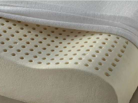 Rectangular latex pillow LATTICE CERVICALE - Demaflex