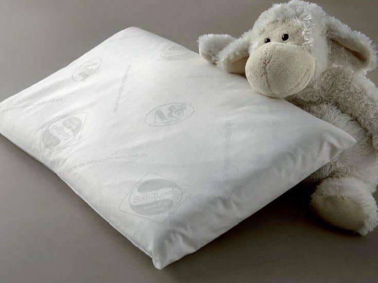 Rectangular latex kids pillow LATTICE BABY by Demaflex