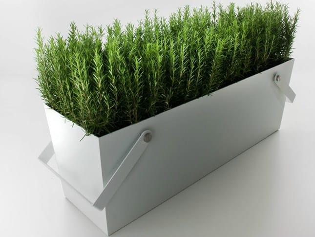 Metal planter SECCHIO - SECCHIONE - FALPER