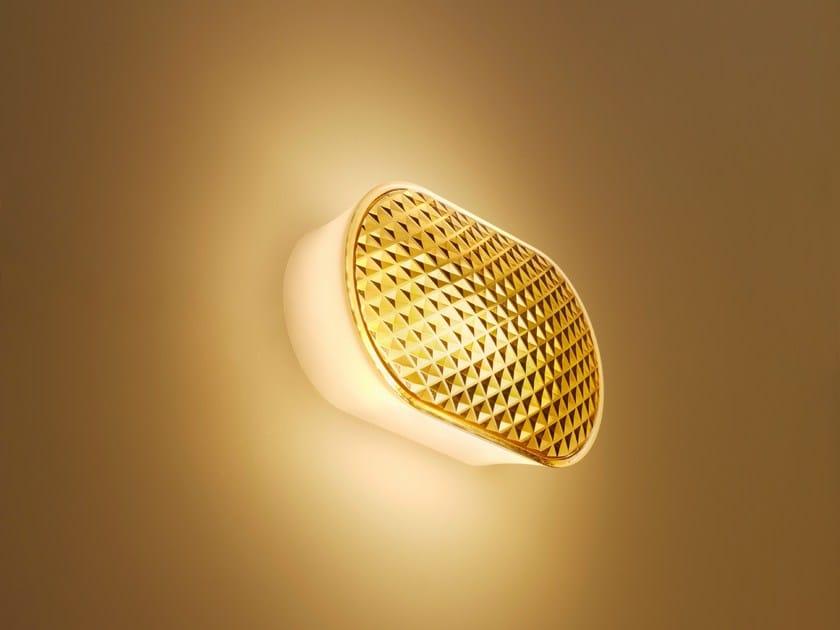 LED technopolymer wall lamp VITRO by FontanaArte