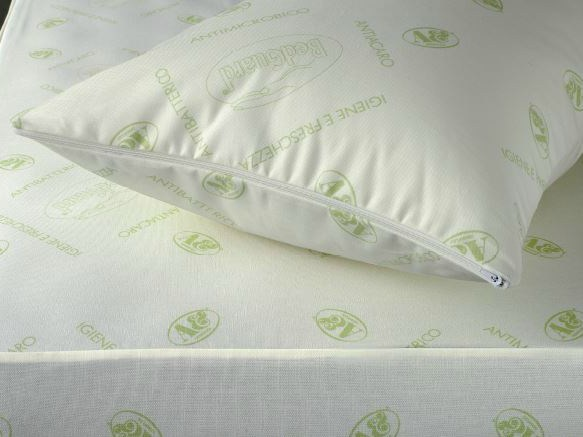 Anti-mite rectangular polyester pillow BEDGUARD | Pillow - Demaflex