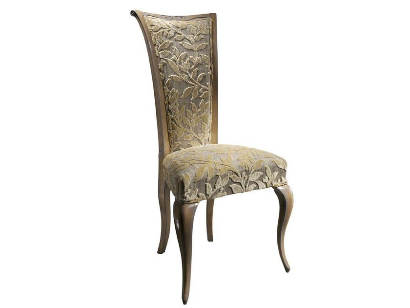 UPHOLSTERED HIGH BACK VELVET CHAIR LISBOA LISBOA