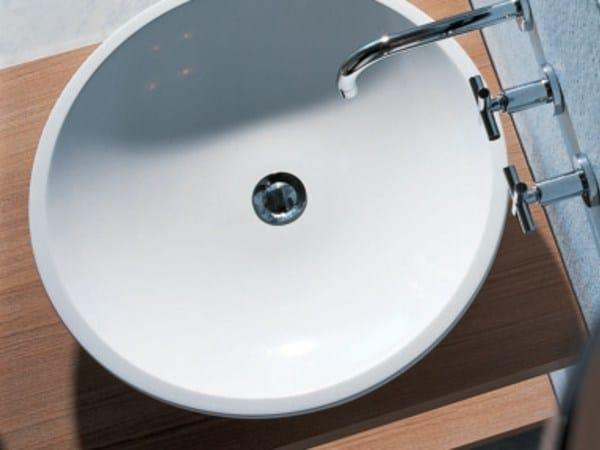 Countertop round Pietraluce® washbasin H10 | Pietraluce® washbasin - FALPER