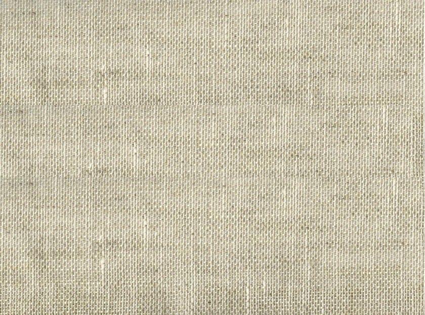 Solid-color linen fabric LUNGARNO - KOHRO