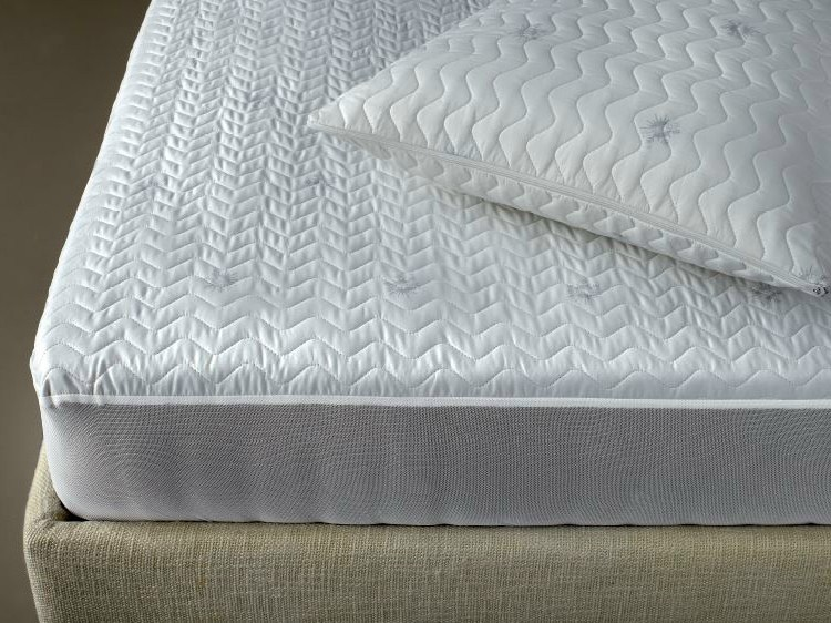Cotton mattress cover EOLE TEMP | Mattress cover - Demaflex