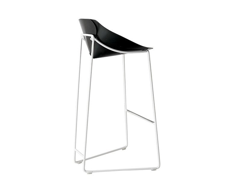 High sled base stool PLISPLAS | Stool - calma