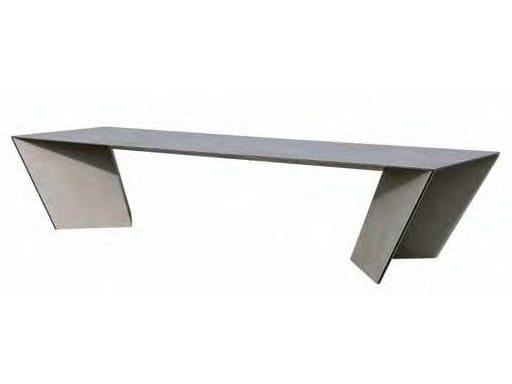 Rectangular table ANGLE   Table - calma