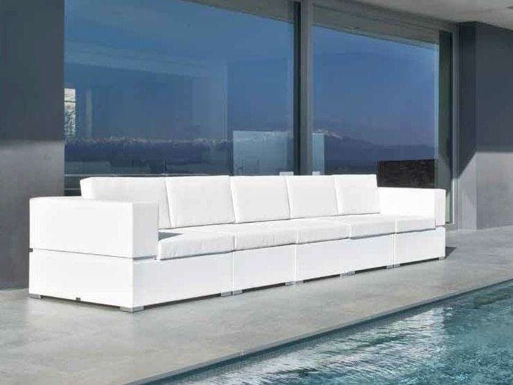 Modular garden sofa CUBIC | Garden sofa - calma