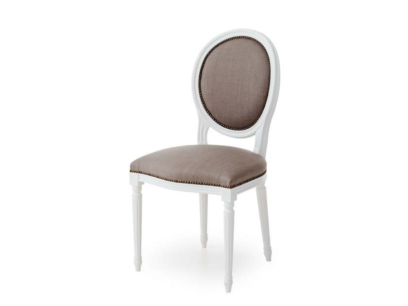 Medallion upholstered chair LUIGI XVI - Minacciolo