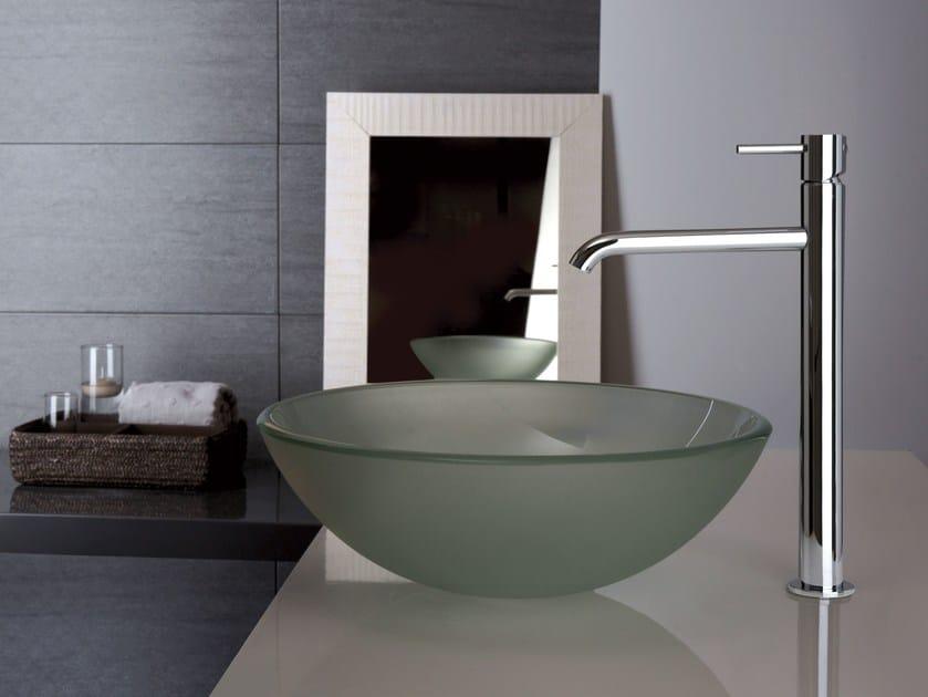 Miscelatore per lavabo da piano monocomando in acciaio - Rubinetteria bagno frattini prezzi ...