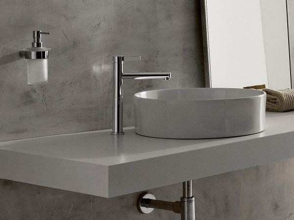 Chrome-plated single handle washbasin mixer TERRA | Single handle washbasin mixer - Graff Europe West