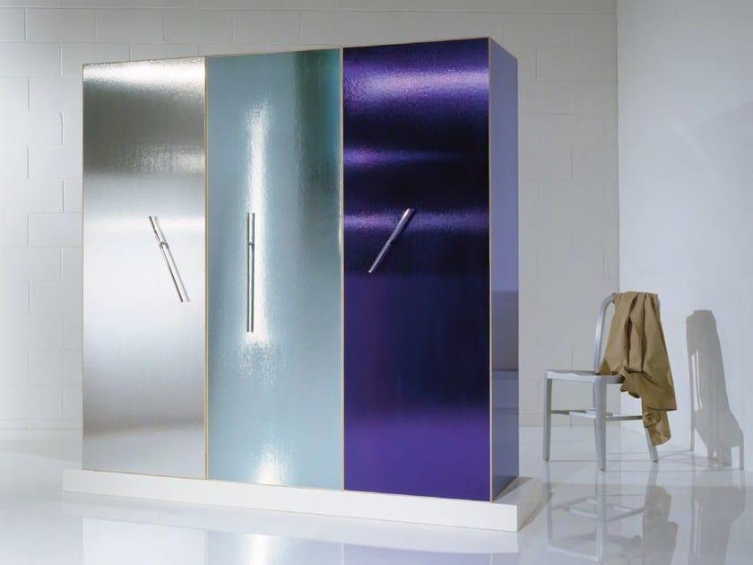 Frosted glass wardrobe Wardrobe - OAK Industria Arredamenti