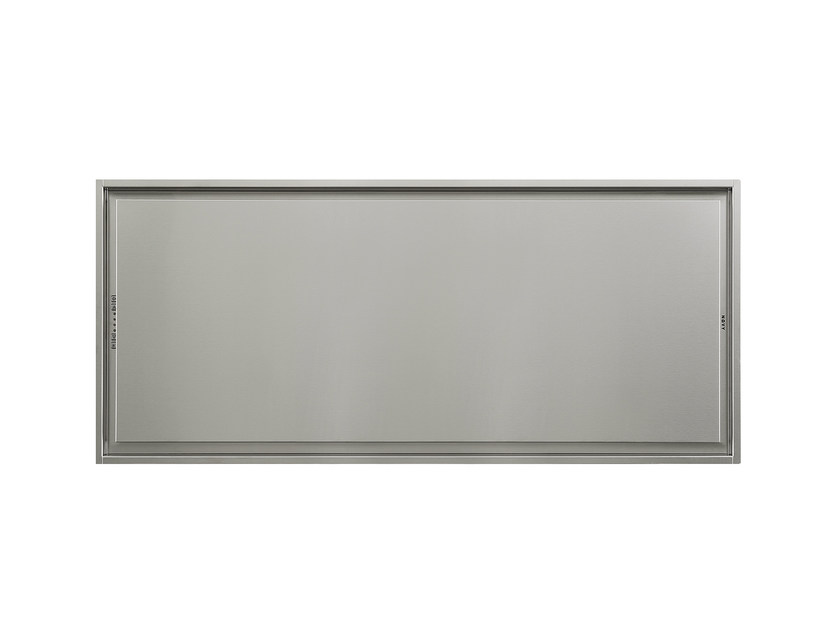 Ceiling-mounted built-in stainless steel cooker hood 6848 PURE'LINE by NOVY