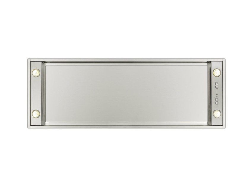 Ceiling-mounted built-in stainless steel cooker hood 820 MINI PURE'LINE by NOVY