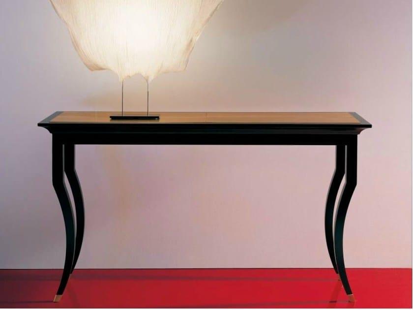 Lacquered rectangular console table SC1005 - OAK Industria Arredamenti