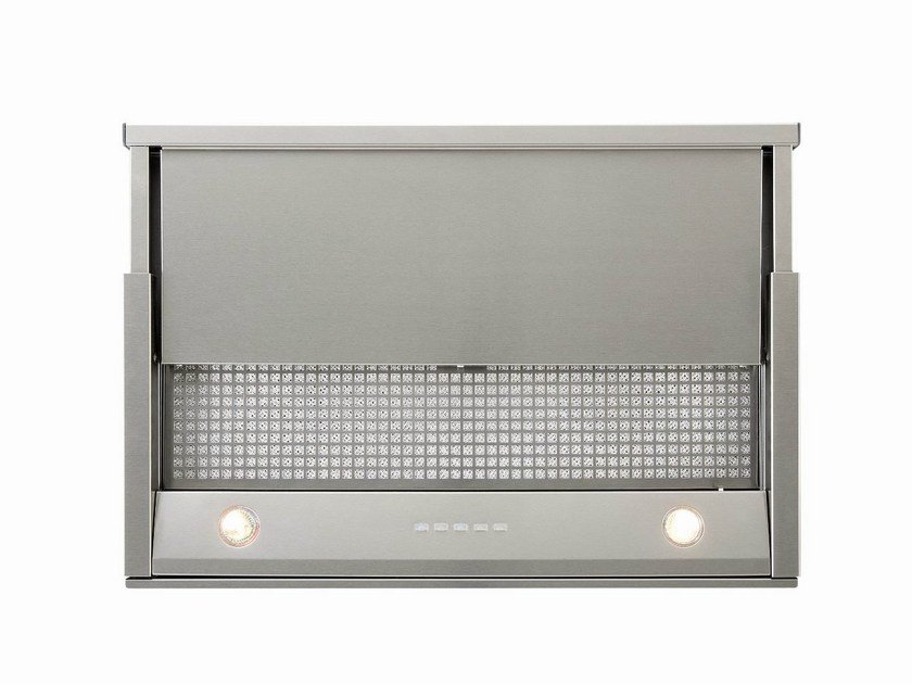 Slide-out built-in cooker hood with integrated lighting 650 TELESCOPIC - NOVY