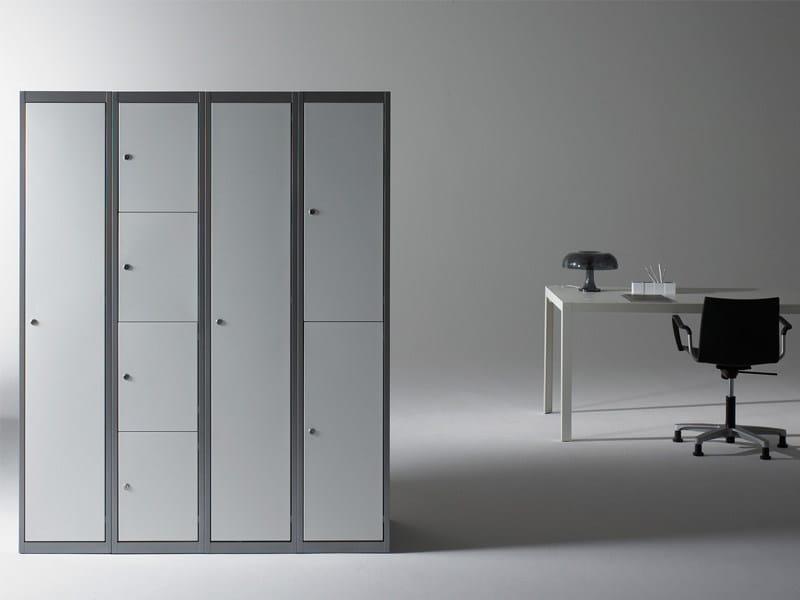 Metal Locker TRENDLINE SILVER - Dieffebi