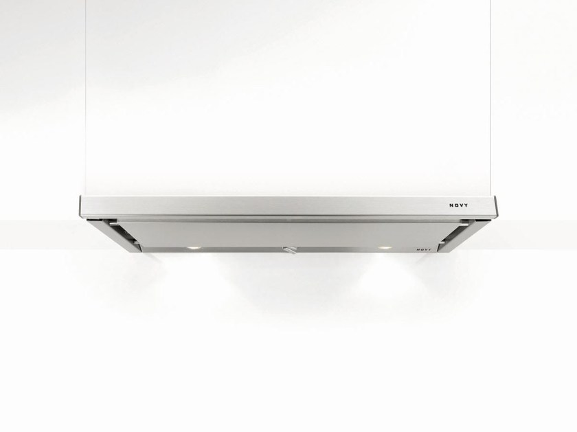 Slide-out built-in cooker hood with integrated lighting 661 TELESCOPIC - NOVY