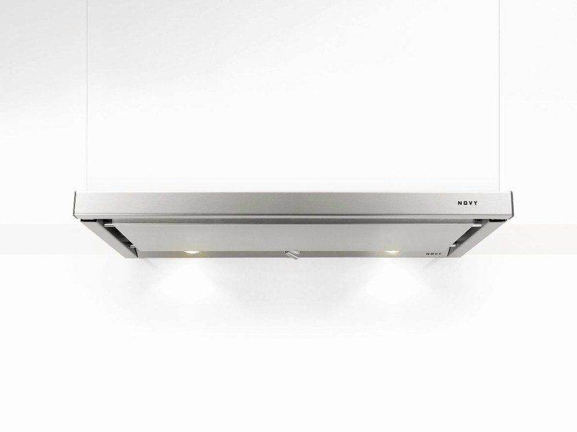 Slide-out built-in cooker hood with integrated lighting 662 TELESCOPIC - NOVY