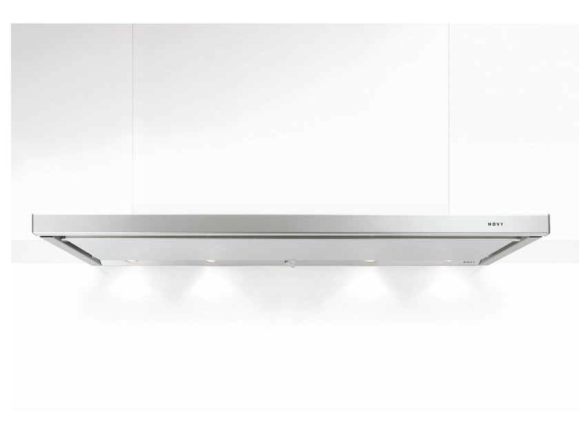 Slide-out built-in cooker hood with integrated lighting 691 TELESCOPIC - NOVY