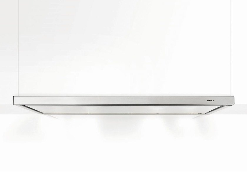 Built-in stainless steel cooker hood with integrated lighting 693 TELESCOPIC - NOVY