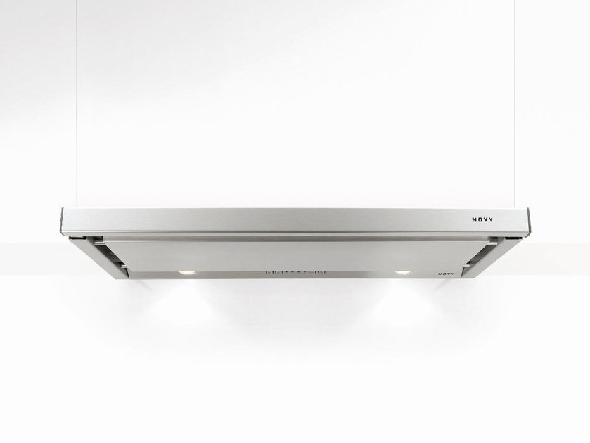 Built-in stainless steel cooker hood with integrated lighting 663 TELESCOPIC - NOVY