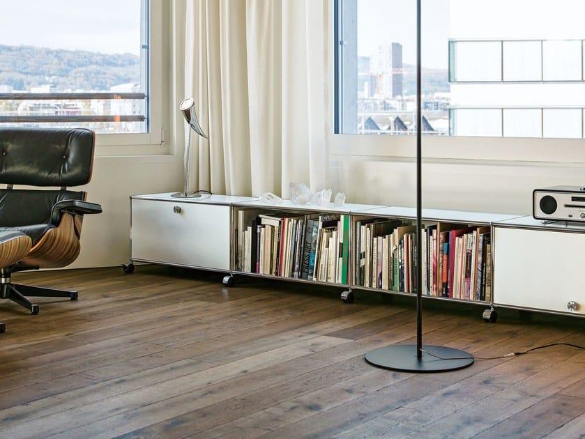 madia componibile in metallo usm haller lowboard madia componibile usm. Black Bedroom Furniture Sets. Home Design Ideas