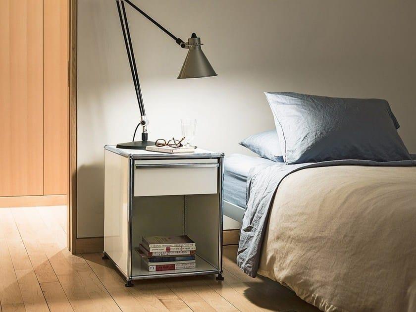 Bedside table with drawer USM HALLER NIGHTSTAND | Bedside table - USM Modular Furniture