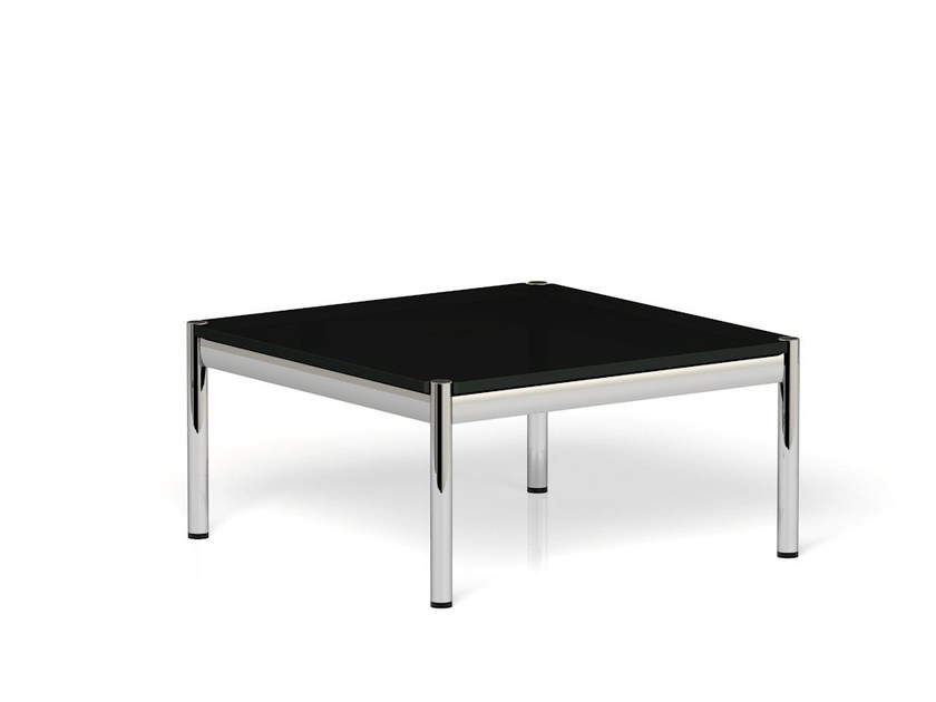 Low square coffee table USM HALLER COFFEE TABLE | Low coffee table - USM Modular Furniture