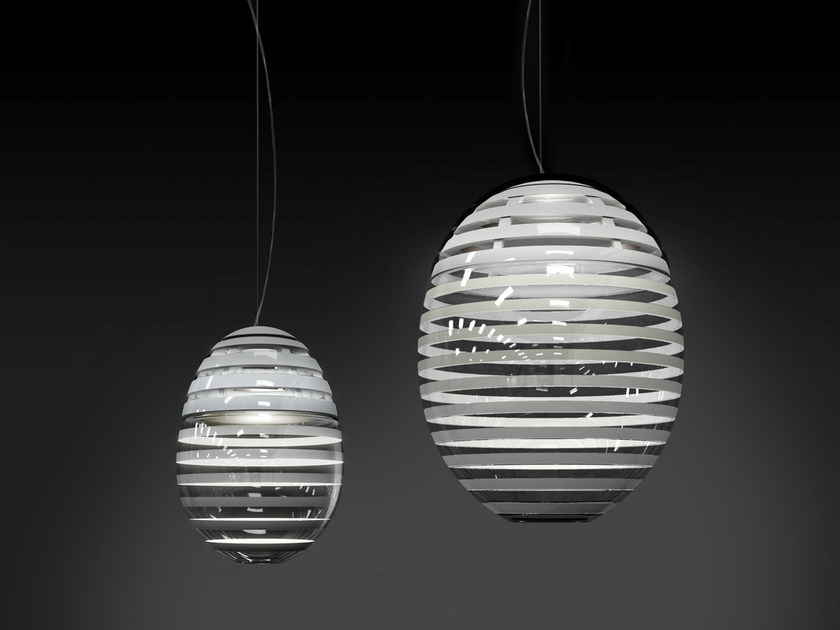 LED direct light blown glass pendant lamp INCALMO | Pendant lamp - Artemide Italia