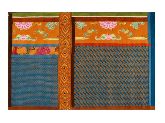 Handmade wool rug MING - Toulemonde Bochart