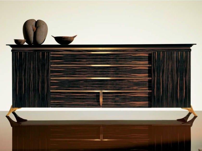 Wooden sideboard with doors SC1015 - OAK Industria Arredamenti