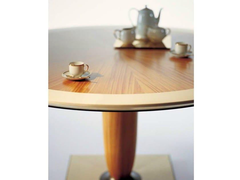 Tavolo rotondo in legno sc1027 oak - Tavolo rotondo in legno ...