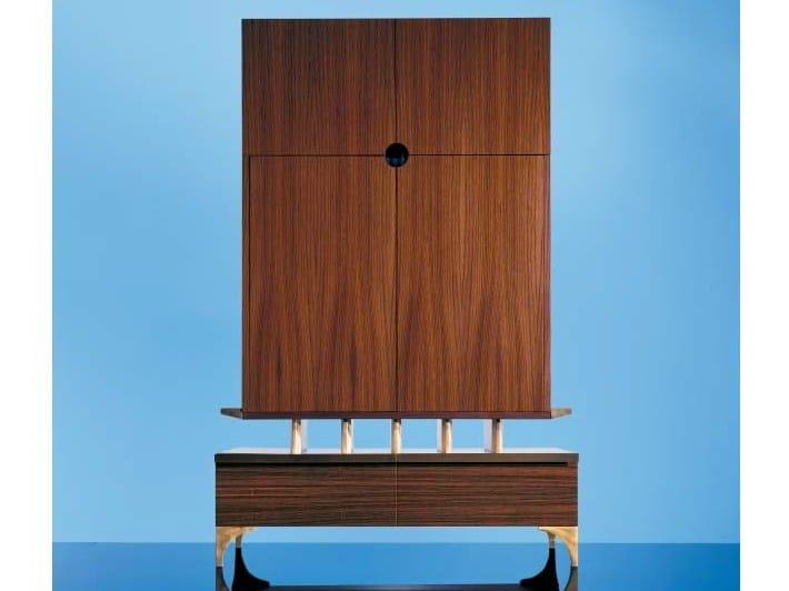 Classic style wooden TV cabinet SC1028 - OAK Industria Arredamenti