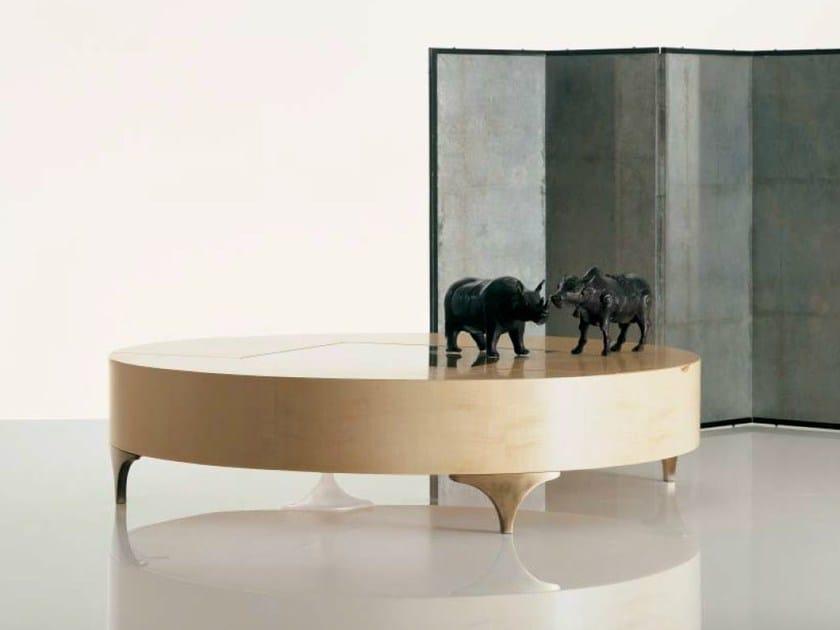 Low wooden coffee table SC1034 - OAK Industria Arredamenti