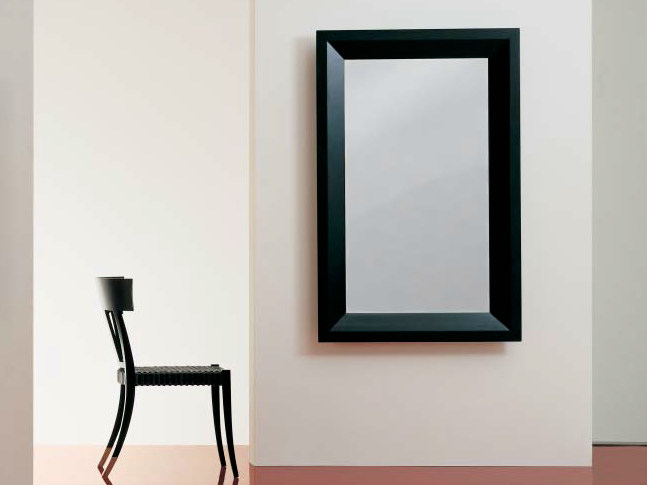 Rectangular framed mirror SC1039/b - OAK Industria Arredamenti