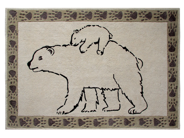 Rectangular kids rug POLAIRE - Toulemonde Bochart