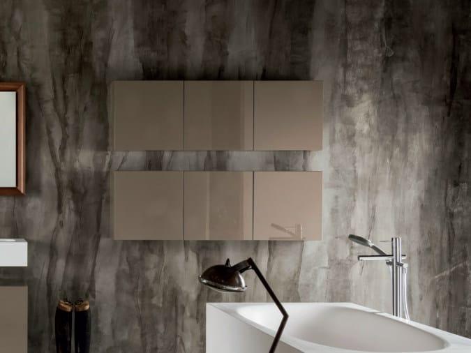 Sectional modular wall cabinet VIA VENETO | Wall cabinet - FALPER