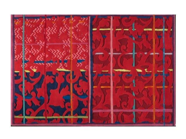 Handmade rectangular rug ISPAHAN - Toulemonde Bochart