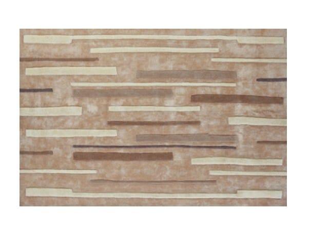 Handmade rectangular rug LINES - Toulemonde Bochart