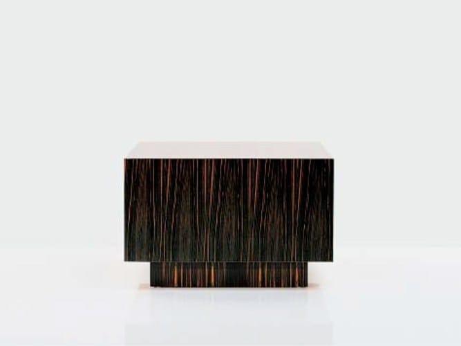 Low wooden coffee table SC 3014/E - OAK Industria Arredamenti