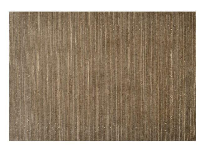 Solid-color rectangular rug DESERT - Toulemonde Bochart