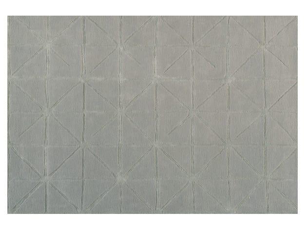 Solid-color rectangular rug GRAVITY - Toulemonde Bochart